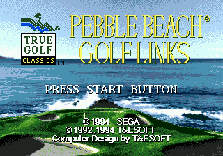 Pebble Beach Golf Links screenshot