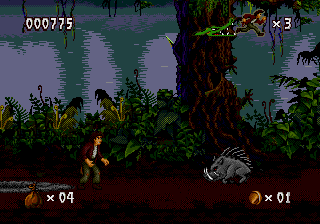 Pitfall - The Mayan Adventure screenshot