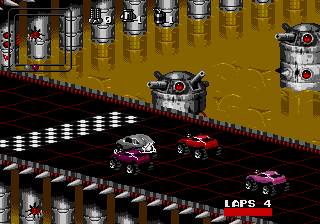 Rock n' Roll Racing screenshot