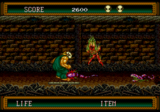 Splatterhouse Part 2 [Model T-14143] screenshot