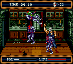 Splatterhouse Part 3 [Model T-14153] screenshot