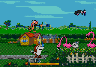 Stimpy's Invention Starring Starring Ren Hoëk & Stimpy screenshot