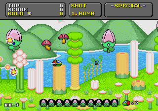Super Fantasy Zone screenshot