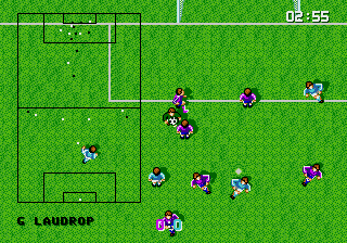 Super Kick Off screenshot