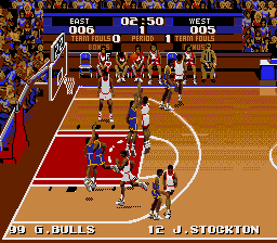 Tecmo Super NBA Basketball screenshot