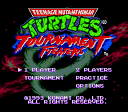 Teenage Mutant Hero Turtles - Tournament Fighters [Model T-95053] screenshot