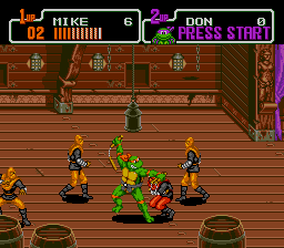 Teenage Mutant Ninja Turtles - Return of the Shredder screenshot