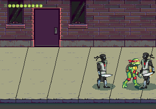 Teenage Mutant Ninja Turtles - Vozvrashchenie Legendy screenshot