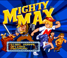 The Adventures of Mighty Max screenshot