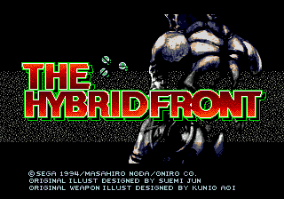 The Hybrid Front screenshot