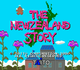 The New Zealand Story [Model T-11013] screenshot