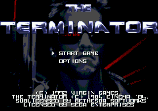 The Terminator screenshot