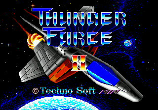 Thunder Force II MD [Model T-18013] screenshot