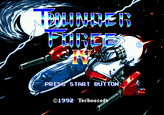 Thunder Force IV [Model T-18063] screenshot