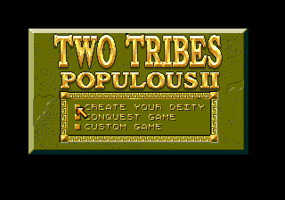 Two Tribes - Populous II screenshot