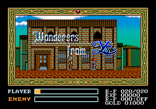 Ys - Wanderers from Ys [Model T-49063] screenshot