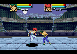 Yu Yu Hakusho - Sunset Fighters [Model 048380] screenshot