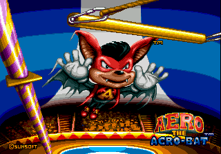 Aero the Acro-Bat [Model T-15056] screenshot
