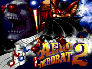 Aero the Acro-Bat 2 [Model T-15166] screenshot