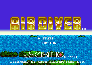Air Diver [Model T-35026] screenshot