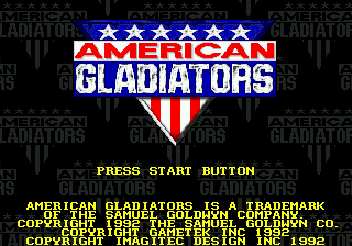 American Gladiators [Model T-83056] screenshot