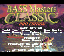 BASS Masters Classic - Pro Edition [Model T-100116] screenshot