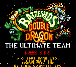 Battletoads & Double Dragon - The Ultimate Team [Model T-97066] screenshot