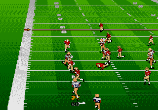 Bill Walsh College Football 95 screenshot