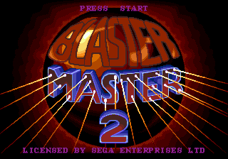 Blaster Master 2 [Model T-15076] screenshot