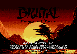 Brutal - Paws of Fury screenshot