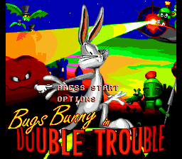 Bugs Bunny in Double Trouble screenshot
