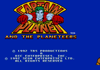 Captain Planet and the Planeteers screenshot
