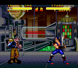 Double Dragon V - The Shadow Falls screenshot