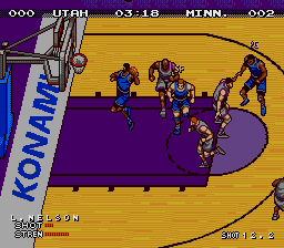Double Dribble - The Playoff Edition screenshot