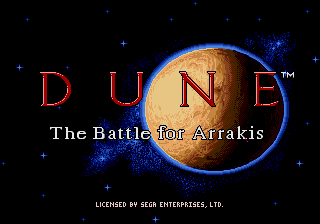Dune - The Battle for Arrakis screenshot