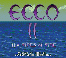 Ecco - The Tides of Time [Model 1553] screenshot