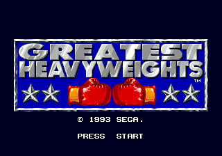 Greatest Heavyweights screenshot