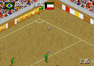 Head-On Soccer screenshot