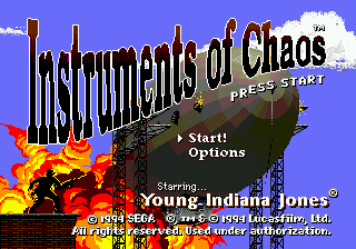Instruments of Chaos Starring Young Indiana Jones screenshot