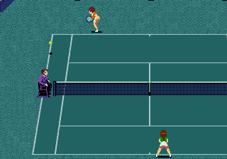 Jennifer Capriati Tennis screenshot