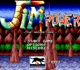 Jim Power - The Arcade Game screenshot