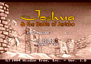 Joshua & the Battle of Jericho screenshot