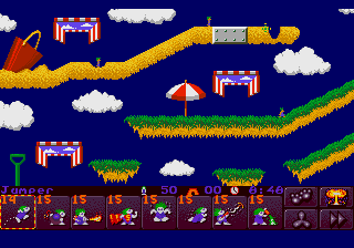 Lemmings 2 - The Tribes screenshot