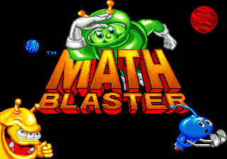 Math Blaster - Episode 1 screenshot