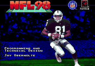 NFL 98 screenshot