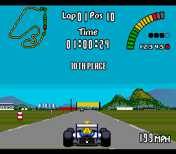 Nigel Mansell's World Championship Racing screenshot