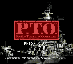 P.T.O. - Pacific Theater of Operations screenshot