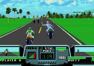 Road 3 Rash - World Warriors screenshot