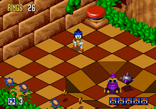 Sonic 3D Blast [Model 1844] screenshot
