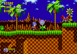 Sonic Classics [Model 1190] screenshot